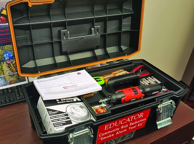Smoke alarm tool kit